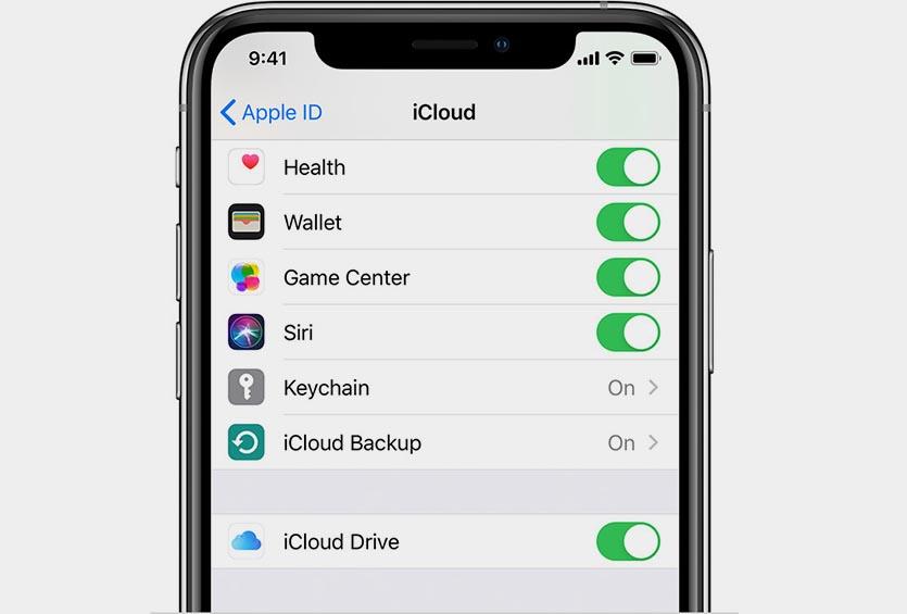 ios13-iphone-xs-settings-apple-id-icloud-icloud-drive
